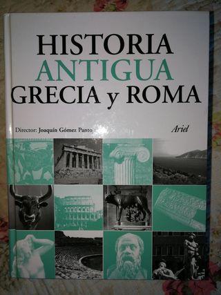 Libro. Historia Antigua Grecia y Roma