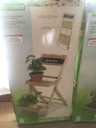 Jardinera escalera