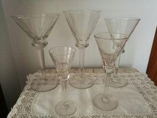 Cristalleria vintage 58 copes, comprada 1965