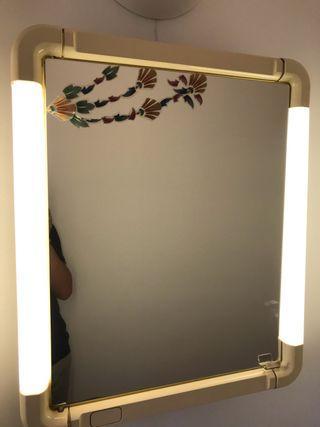 Espejos baño vintage con luz