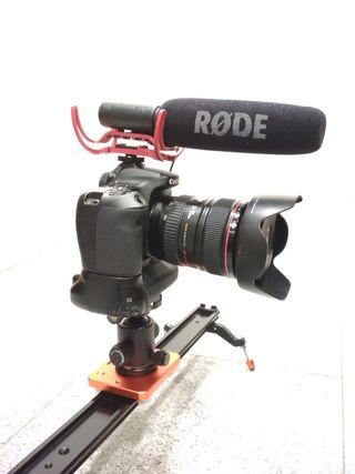 Canon 70D + objetivos, apenas usada.