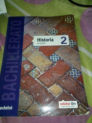 Libro de texto Historia de España 2 Bachillerato