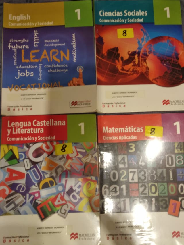 Libros Formación Profesional Básica 1