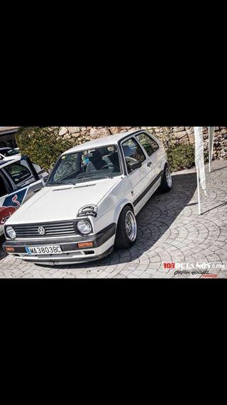 Volkswagen Golf mk 2.