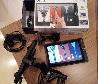 GPS y tablet Vexia