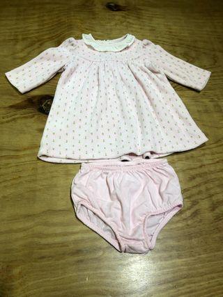 3 meses Vestido Ralph Lauren ropa bebé niño niña