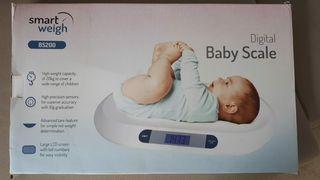 balanza digital infantil smart weigh bs200