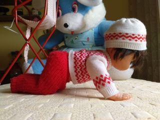 Muñeca vicma con pilas