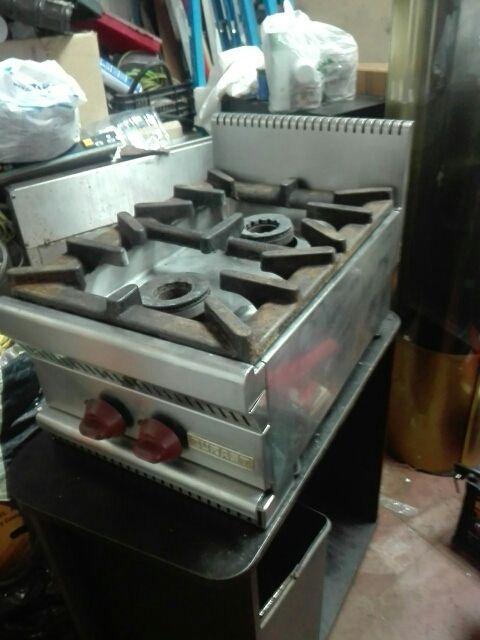cocina industrial de fuegos.
