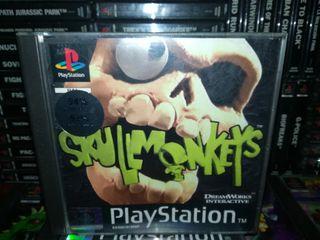 Skullmonkeys Pal España Completo Ps1 Psx