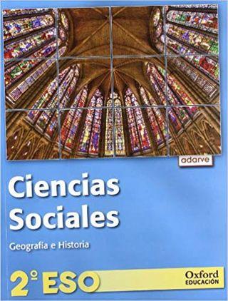 Ciencias sociales 2.º ESO Adarve - 9788467358070