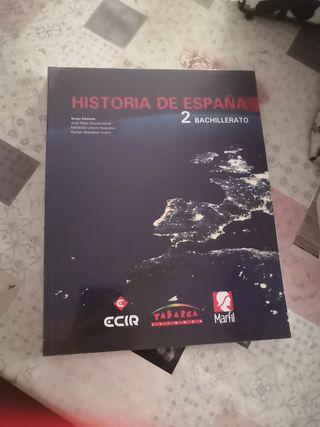 Libro de Historia de España 2°bach
