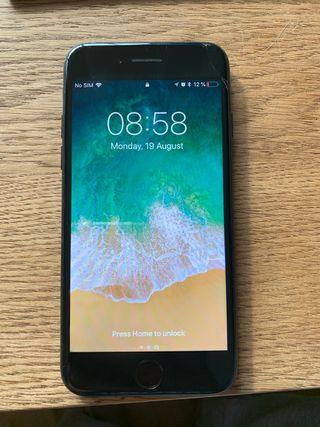 Black iPhone 7 32gb Vodafone