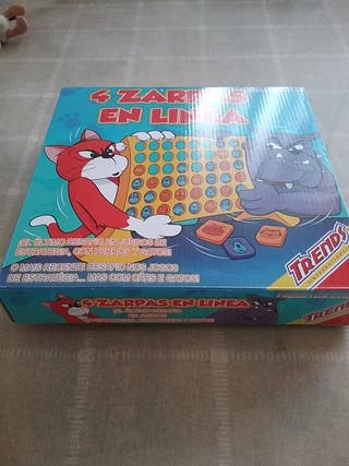 juego de mesa 4 zarpas en línea
