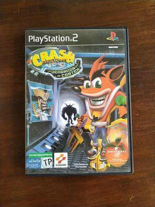 """Crash Bandicoot """"La venganza de Cortex"""" PS2"""