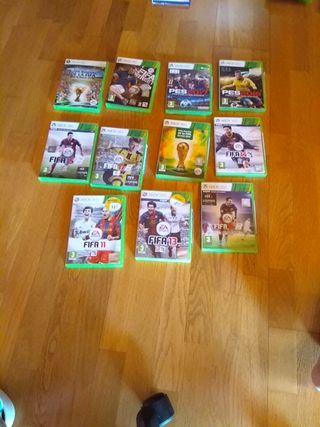 videojuegos de xbox 360 futbol
