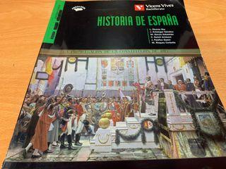 Libro Bachillerato Historia de España