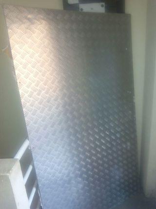 chapa aluminio