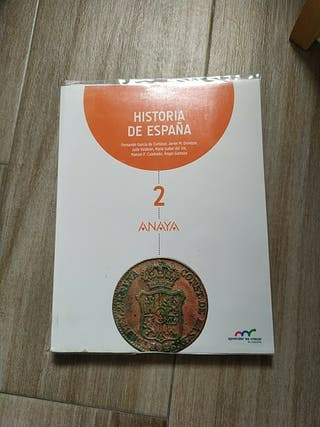 Libro Historia de España 2°Bach