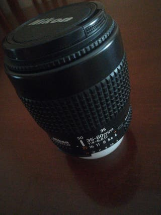 Objetivo Nikon 35-80mm