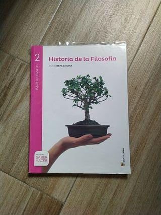 Libro historia de la filosofía 2°Bach