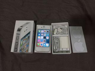 Móvil iPhone 4S 16GB blanco libre con su caja