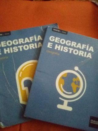 libros 1 eso geografia e historia