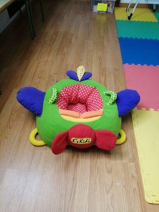 juguete blandito para sentar bebés