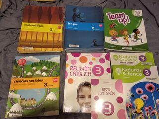 Libros 3º tercero primaria