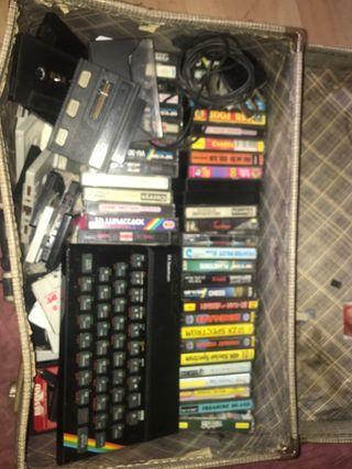 ZX Spectrum retro gaming consul and 40+ games