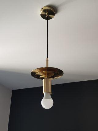 Lámpara colgante Portabombilla Saturno