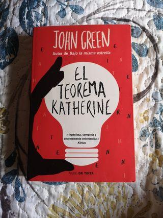 "Libro ""El teorema Katherine"" de John Green"