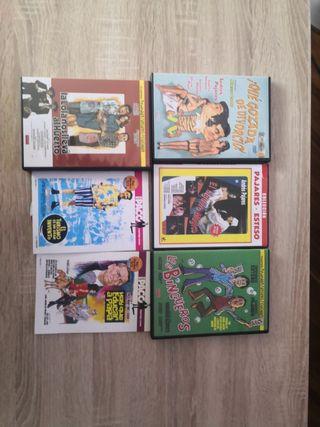 DVDs cine español