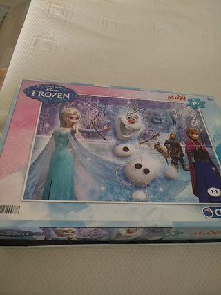 puzle Frozen