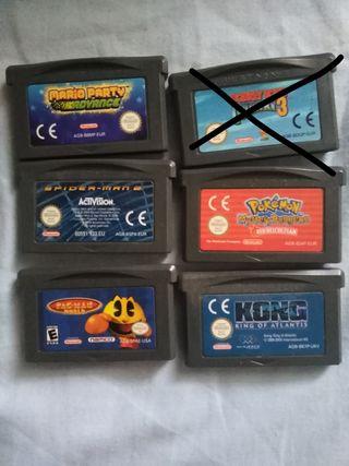 juegos Gameboy advance!!!