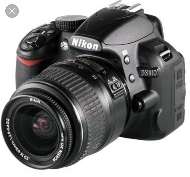 Nikon d3100 objetivos y flash