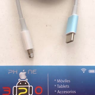 CABLE DE DATOS / USB- C A LIGHTNING ORIGINAL APPLE
