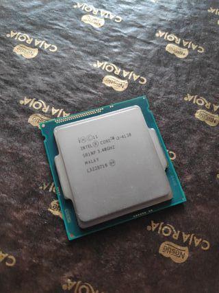 Procesador Intel Core i3 4130 a 3,40 GHZ.
