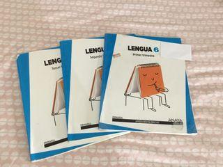 Libros Lengua 6º de Primaria ANAYA