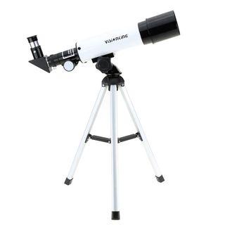 telescopio astronómico 50mm con trípode