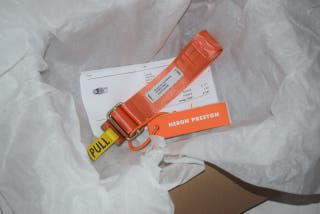 heron preston belt