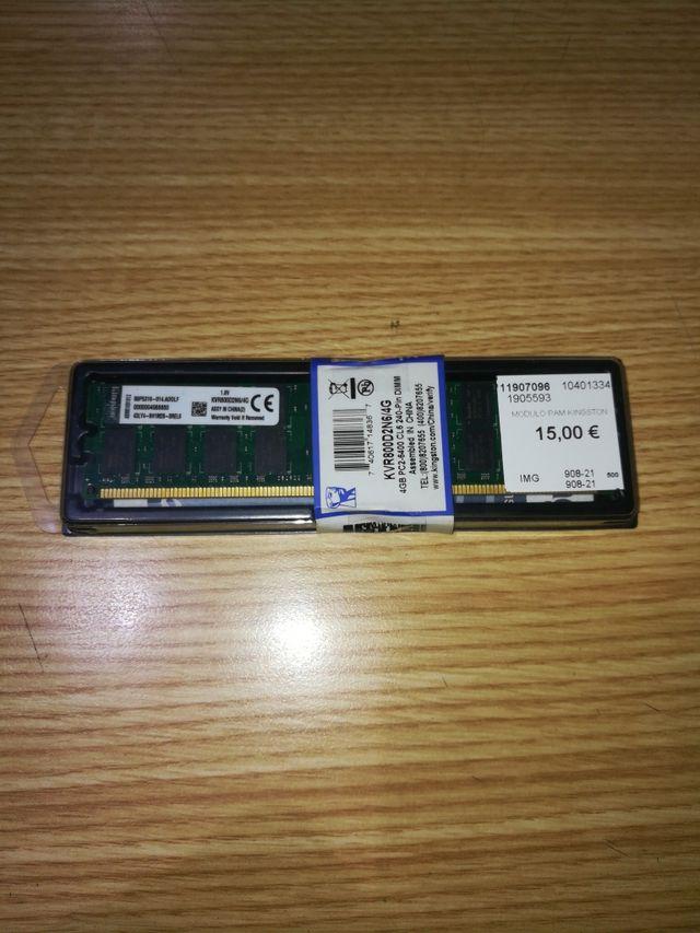 Modulos Memoria RAM