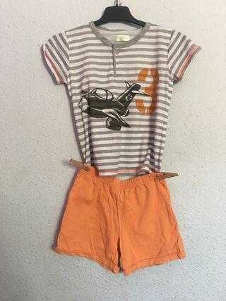 Pijama de niño de verano