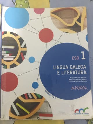 Vendo Libros de lingua Galega 1º De la ESO