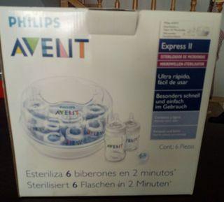 esterilizador biberones microondas Philips Avent