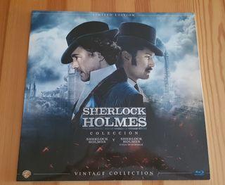 Pack Sherlock Holmes 1 y 2 Bluray Edición vinilo