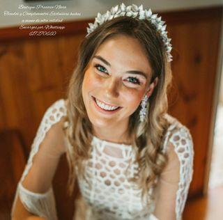 Diadema de novia invitada madrina tocado tiara