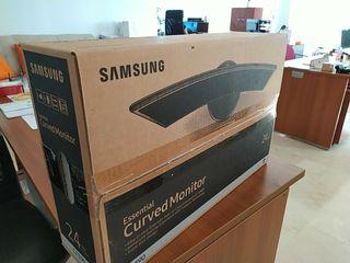 Monitor Curvo Samsung + Brazo