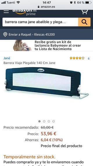 Barrera de cama JANE