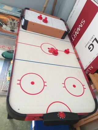 Pack futbolín,billar y hockey air